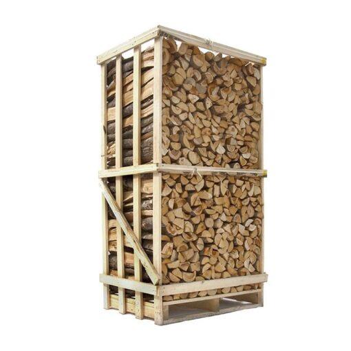 Ovntørret blandet løvtræ brænde