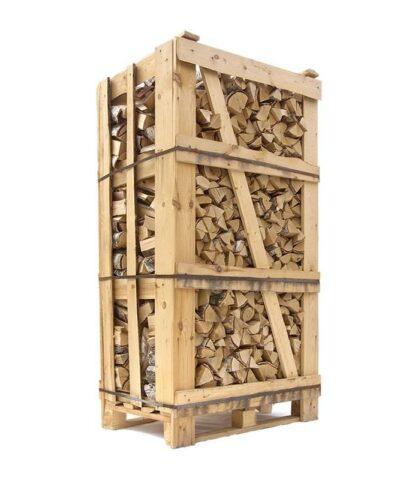 1,8 m3 ovntørret birke brænde