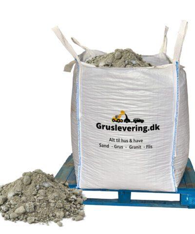 knust beton i bigbag