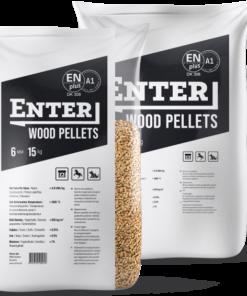 enter pellets - træpiller 6mm 15 kg