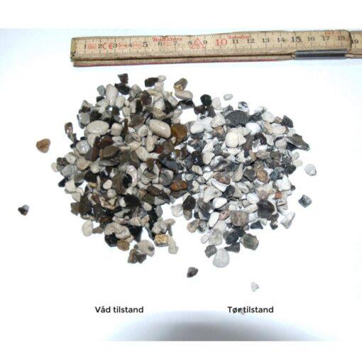 Perlesten hvid 4-8 mm