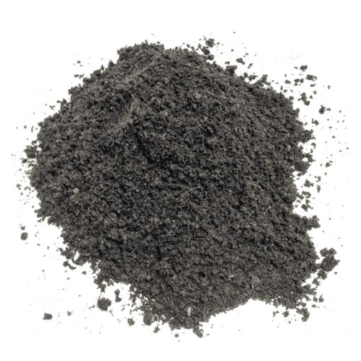 sort stenmel 0-2 mm