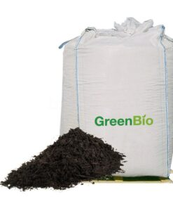 GreenBio vermebehandlet kompost big-bag