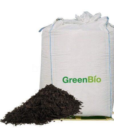 GreenBio vermebehandlet kompost big-bag