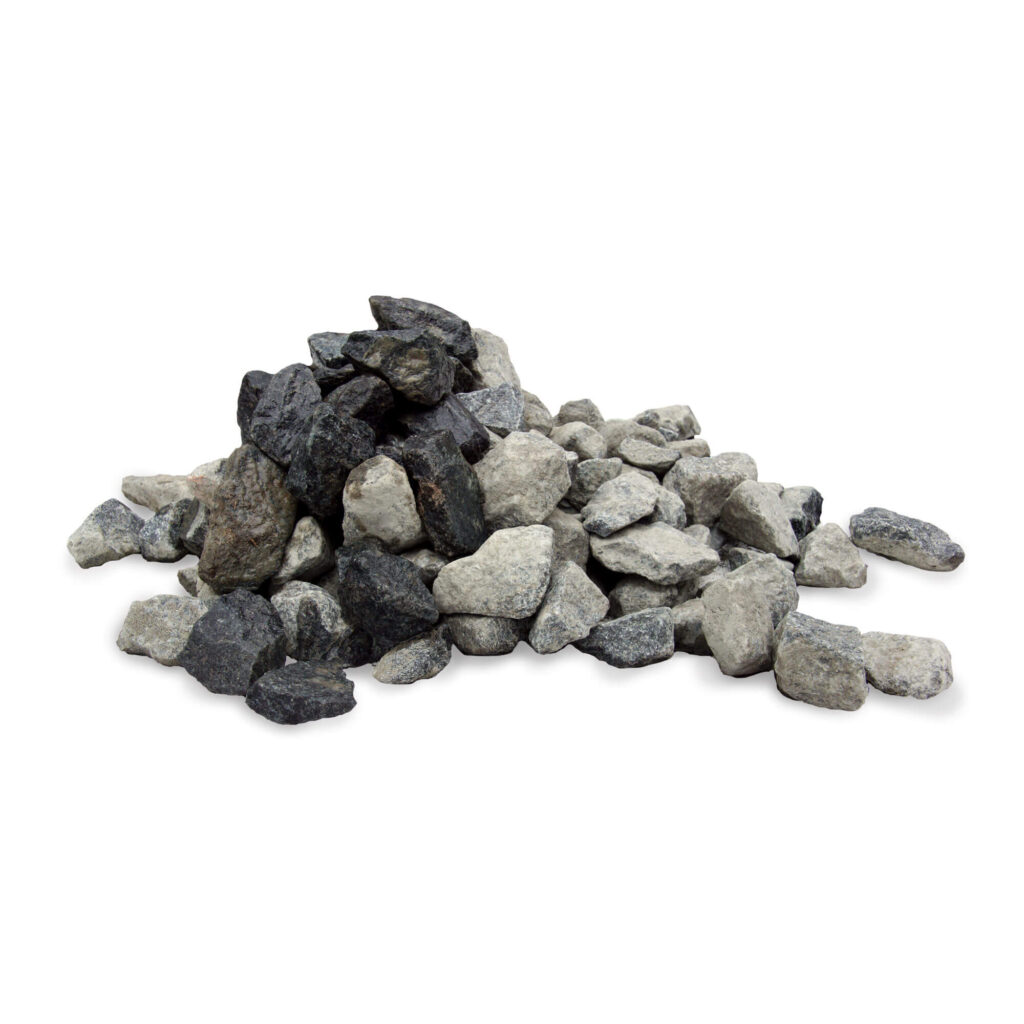 sorte granitskærver 32/50 leveret i bigbag